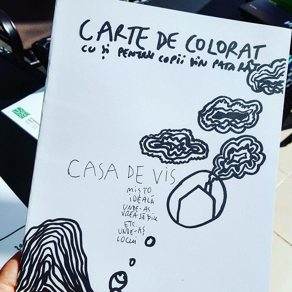 Artistul Dan Perjovschi Lansează O Carte De Colorat Cu