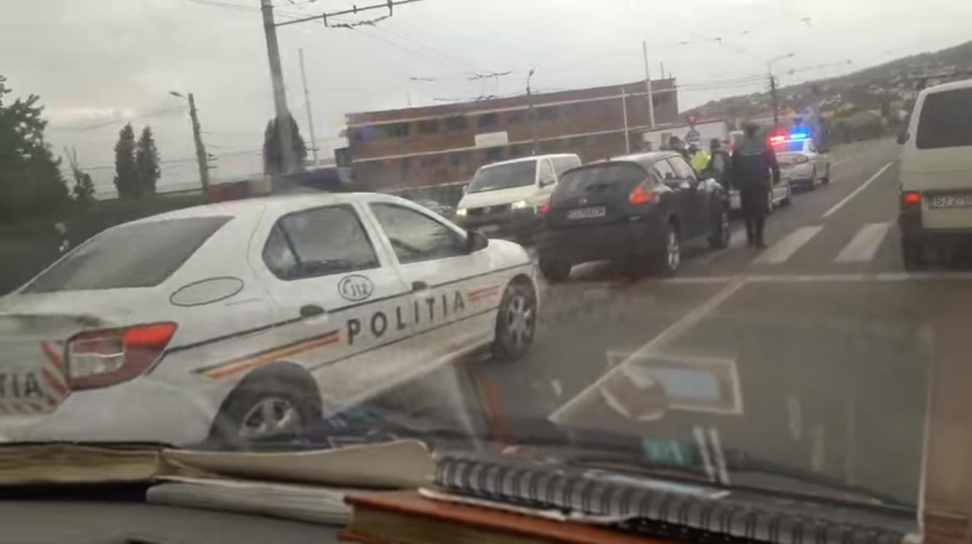 sursa foto - captură video facebook.com/Info Trafic Cluj