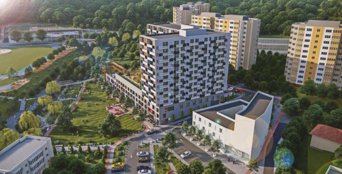 Blocul masiv cu 13 niveluri regândit în zona La Terenuri în Mănăștur e contestat. Primăriei i se cere să respecte calitatea vieții și să solicite un proiect mai mic