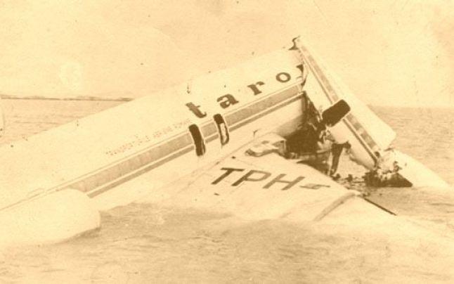 Stewardesa Aurelia Grigore a supravieţuit unui alt accident dramatic, în oceanul Mauritaniei / foto historia.ro