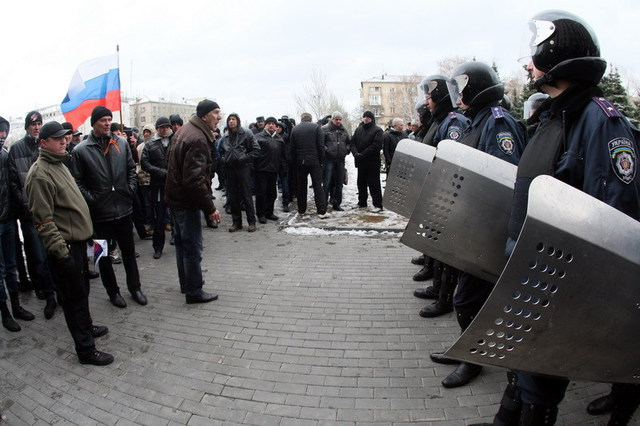 Tensiunile cresc în Ucraina / foto gandul.info