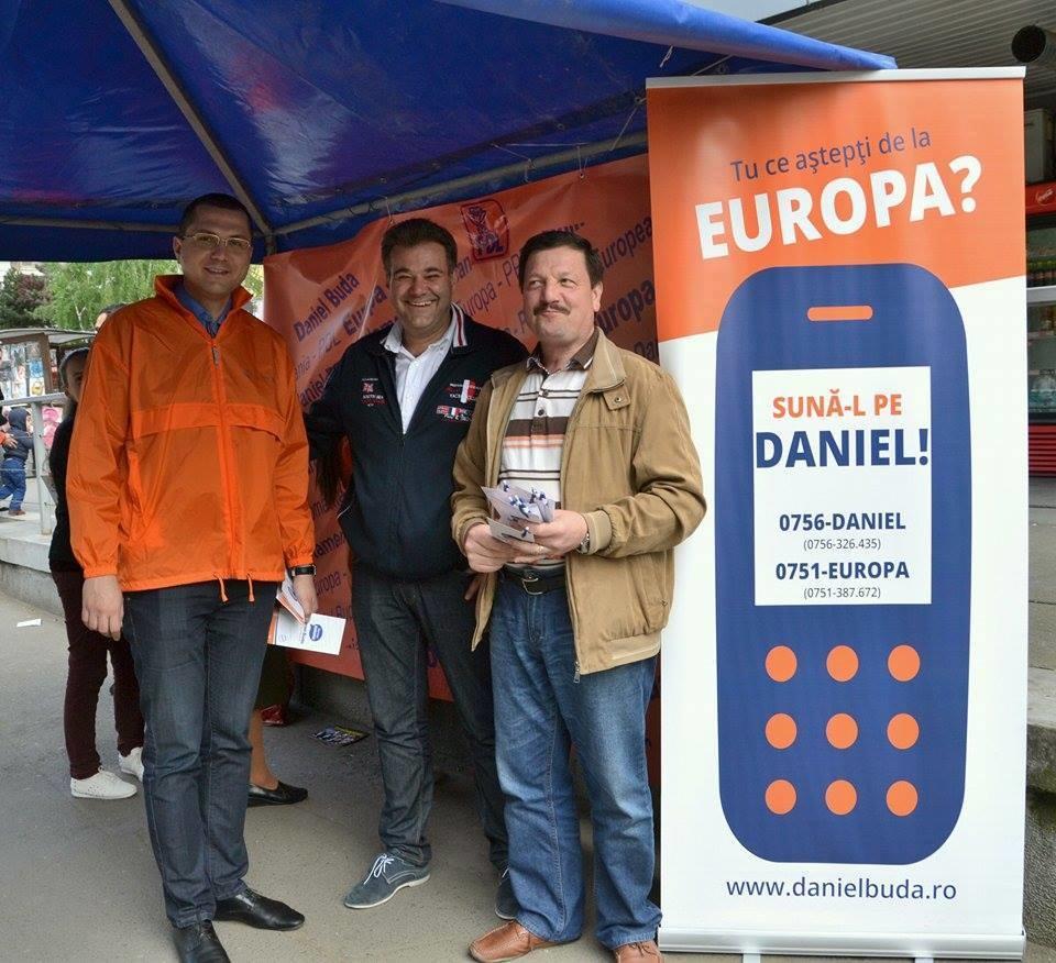 Radu Mosin, Adrian Popa și Gheroghe Șurubaru în campanie în Mărăști