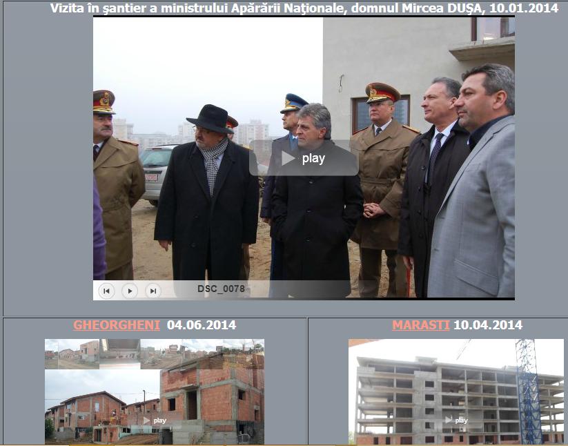site-ul proiectului Vizita Ministrului Apărarii la Cluj.  Ioan Bene a participat la vizită