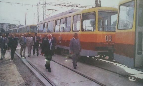 inaugurare tramvai