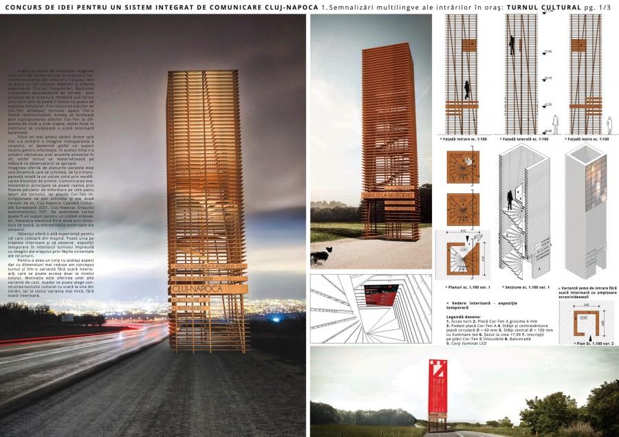 proiect castigator turnul