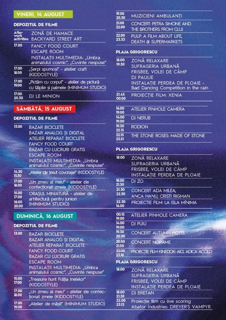 Program Colours of Cluj 2015