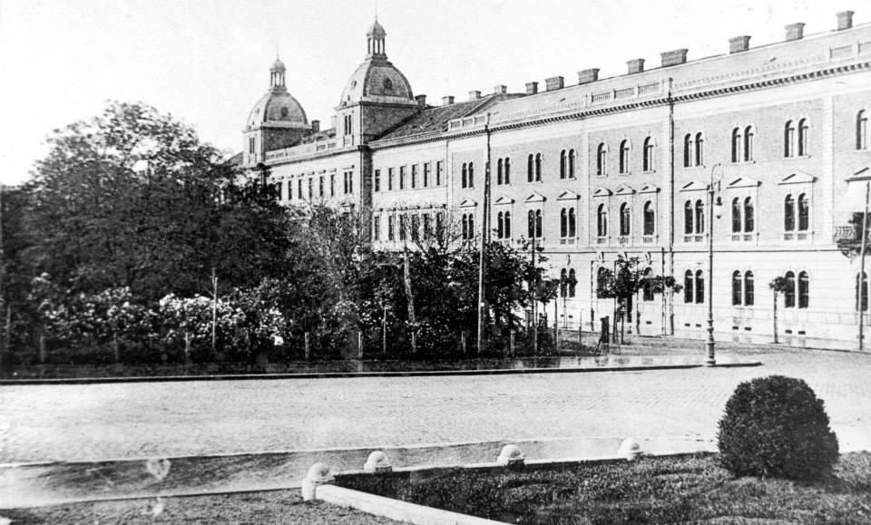 Piața Avram Iancu în 1880