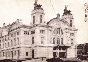 Teatrul Național din Cluj în 1907 / sursa foto teatrulnationalcluj.ro