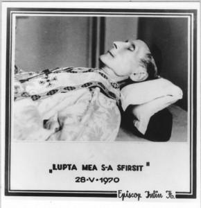 Inmormantarea Episcopului Iuliu Hossu 1