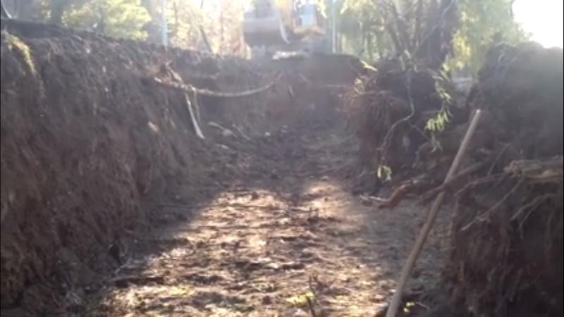Vedere din șantierul de pe Splaiul Idependentei - sursa Somesul nostru (Facebook)