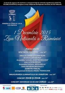1 Decembrie 2015 - afis A3 final