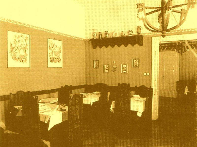 Interior dintr-un salon al Restaurantului