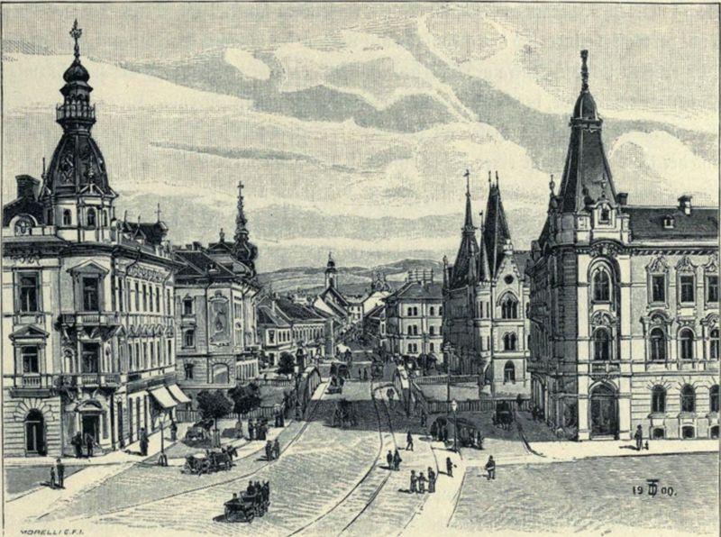 Vedere de pe strada Horea