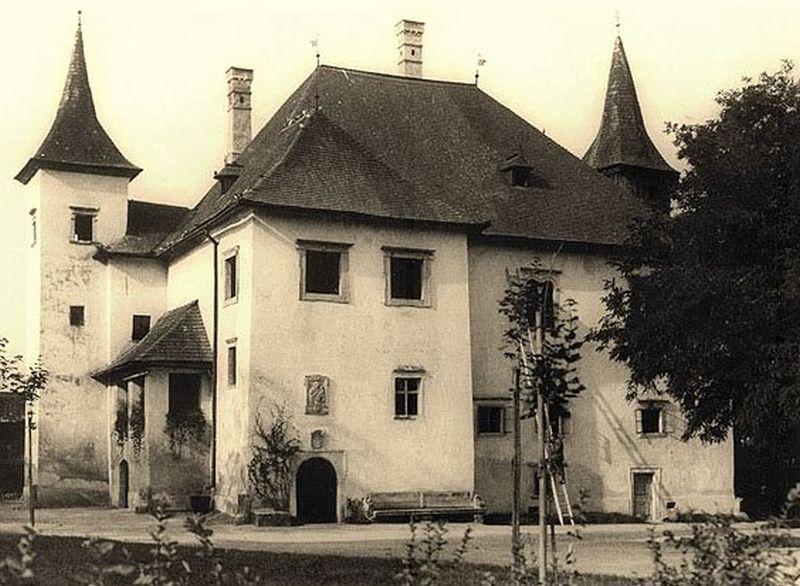 Castelul Kornis, începutul secolului 20