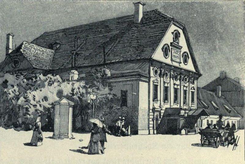 Teatrul Maghiar a fost primul teatru din Cluj și era situat pe strada Kogălniceanu unde astăzi e Casa Universitarilor