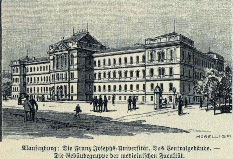 Universitatea Franz Josepf , actuala Universitatea Babes-Bolyai