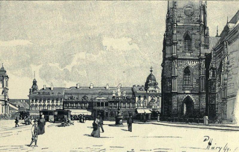 Piața Unirii, partea nord-estică