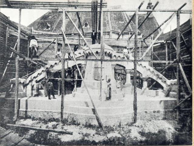 ridicarea statuii matei corvin 1902