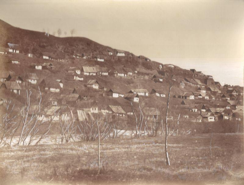 Așa arăta Cetățuia în 1859, deci acum un secol și jumătate