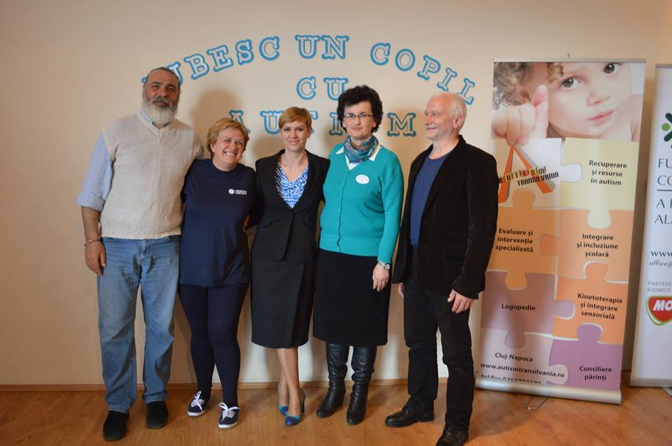 Mugur Pop, Alina Rusu, Nicoleta Nişte, Carmen Ciornei, Imre Andras. Sursa foto: AAT