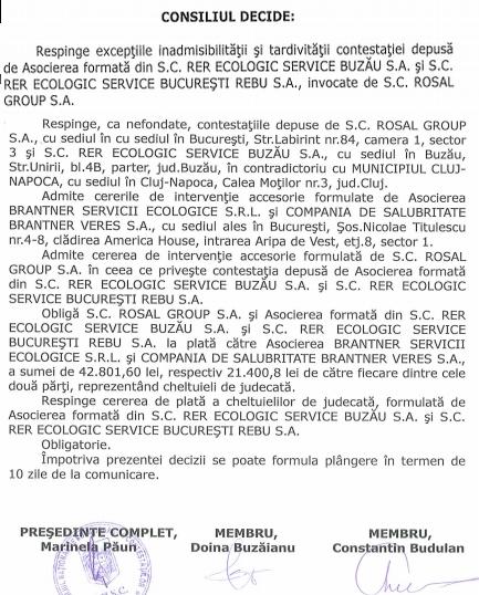 sursa: Decizie CNSC nr. 1505/C6/11697, 1698, 1736 din 28.08.2016
