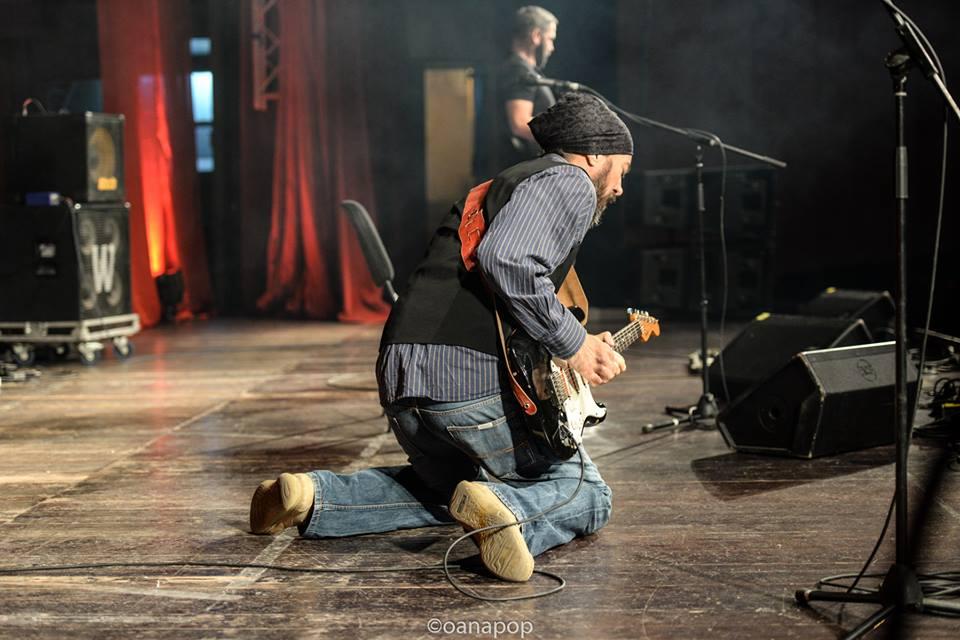 Calin Cyfer. Sursa foto: Cluj Blues Fest