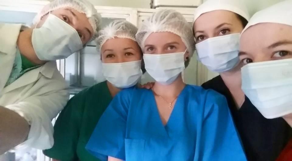 """""""Chirurgi în devenire"""", foto Anca Zârnoveanu"""